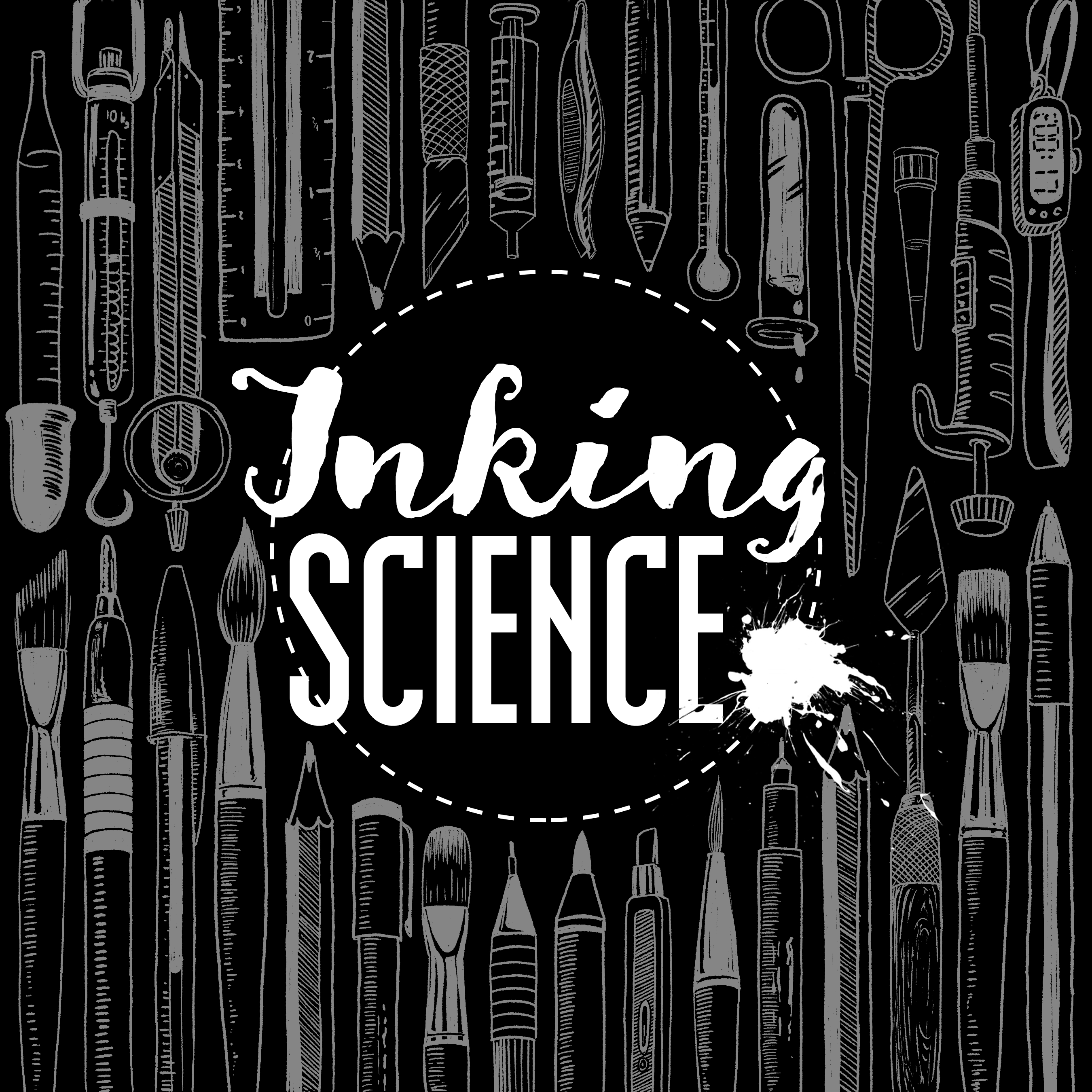 Inking Science book cover image